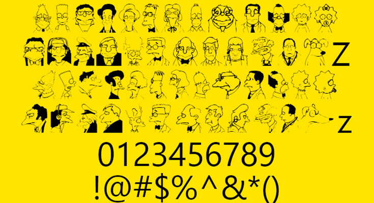 Springfield Mugshots Font Free Download