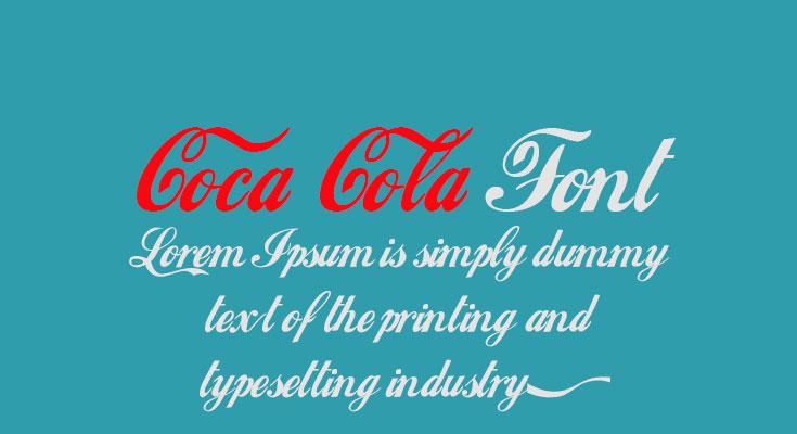 Coca Cola Font Free Download