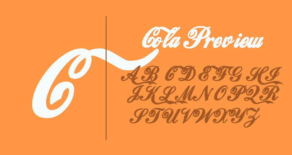 coca-cola-free-font