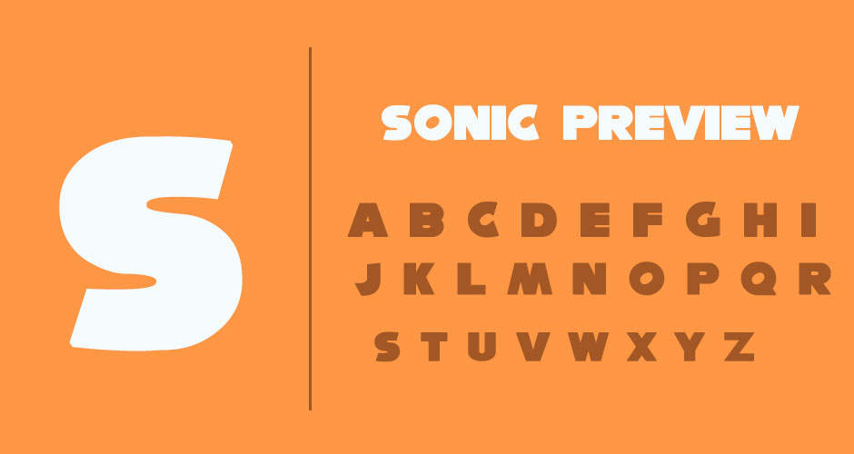 sonic-font-preview