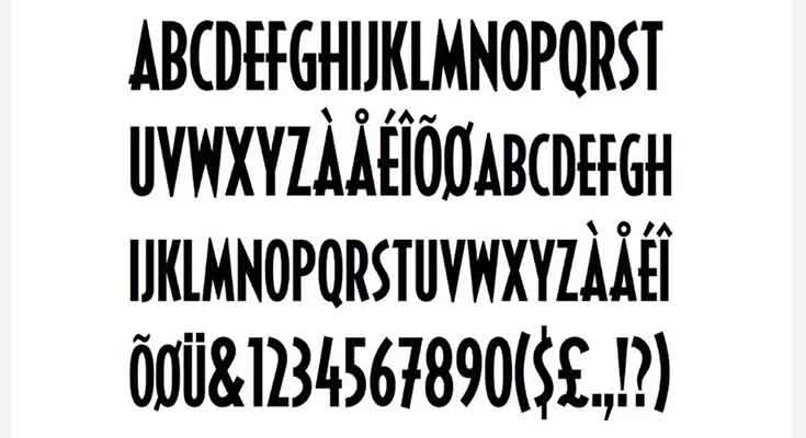 Black-Panther-Font-Preview