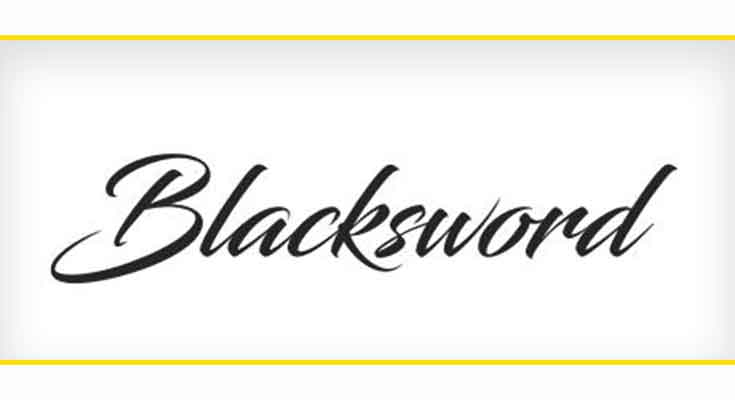 Blacksword Font Free Download