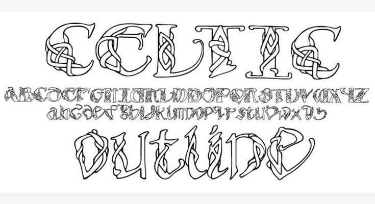 Celtic Font Free Download