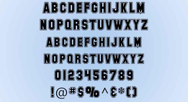 Collegiate-Font-preview