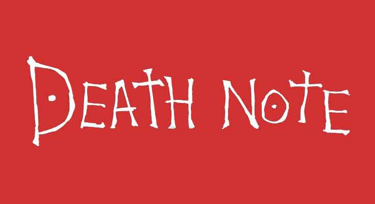 Death Note Font Free Download