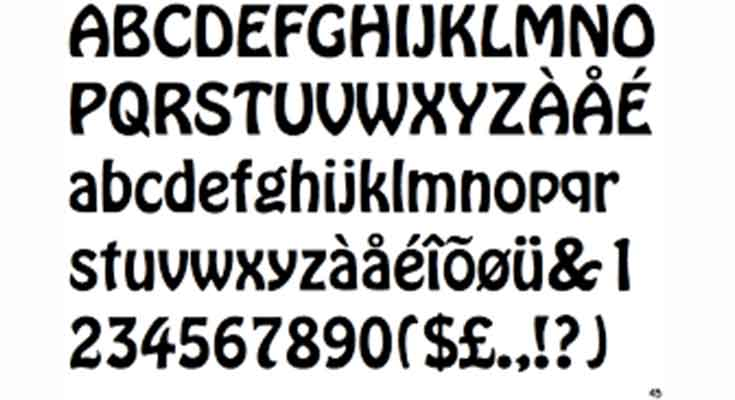 Hobo-Font-preview