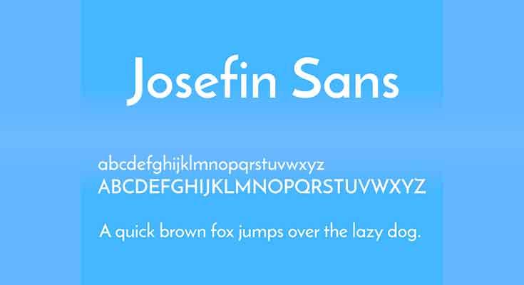 Josefin-Sans-Font-preview