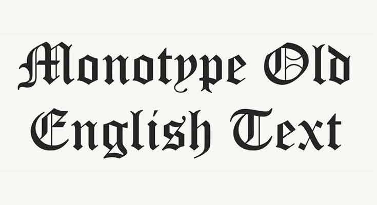 Olde English Font Free Download