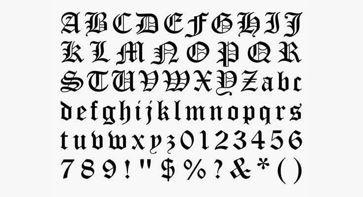 Olde-English-Font-Preview