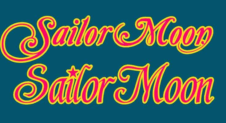 Sailor Moon Font Free Download