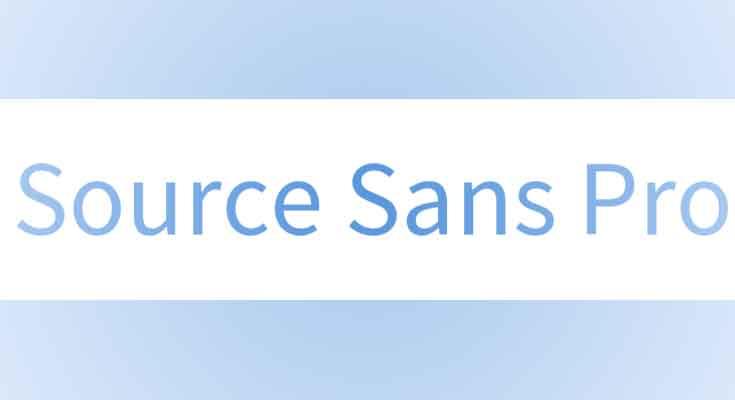Source Sans Pro Font Free Download