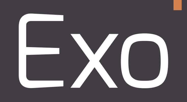 Exo Font Free Download