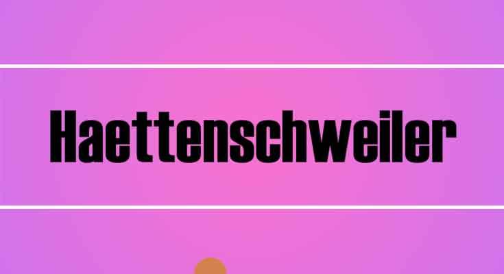 Haettenschweiler Font Free Download